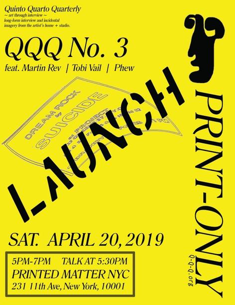 Quinto Quarto Quarterly Issue 3 Launch