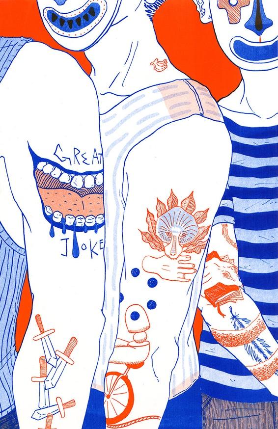 Dark Laughter: Tattoo