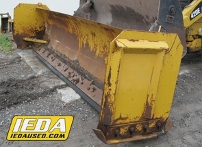 Used  14 FT. SNOW PUSH BLADE FOR BACKHOES For Sale