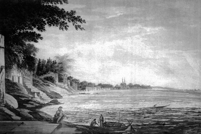 4_Banaras Ghats, Varanasi, Uttar Pradesh, William Hodges 1798.jpg