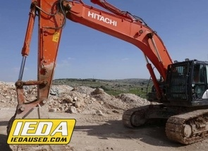Used 2017 Hitachi ZX 350 LC-6 For Sale