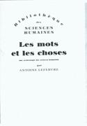 Les Mots Et Let Choses