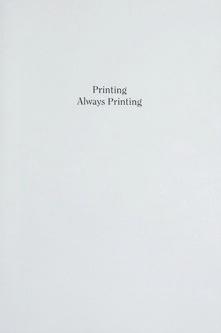 Printing Always Printing