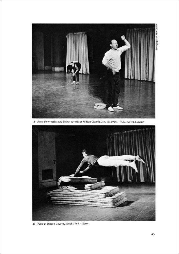 Yvonne Rainer: Work 1961–73 thumbnail 4