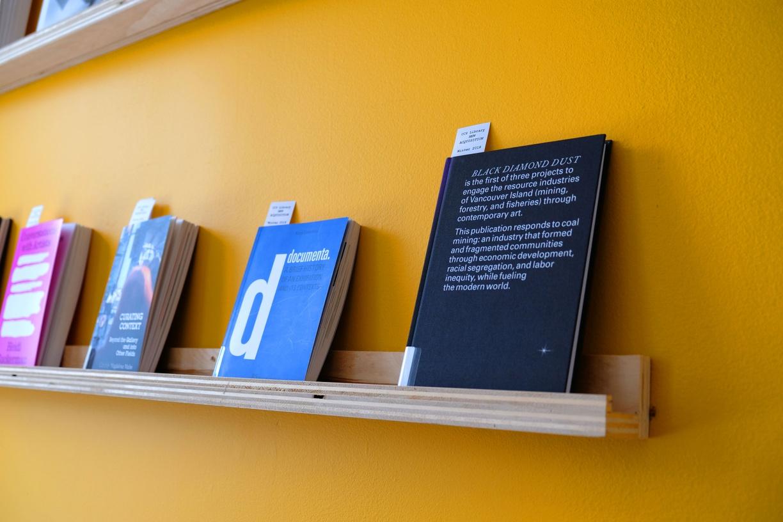 CCS Bard Library display wall