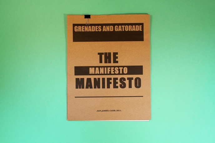 The Manifesto Manifesto thumbnail 3