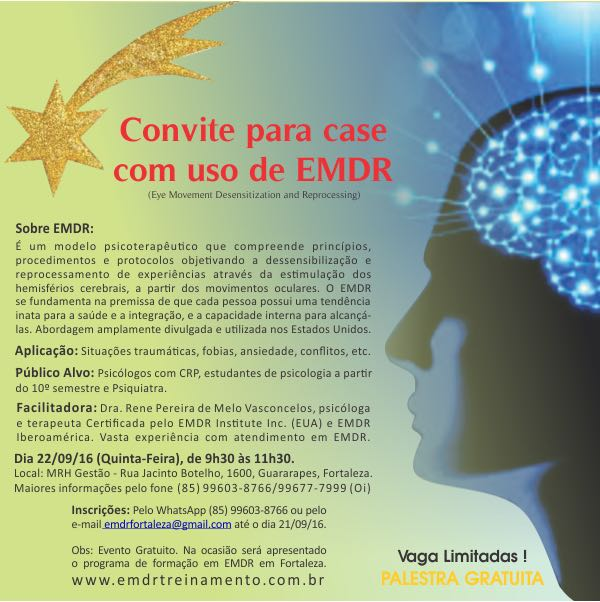 Case com uso de Terapia EMDR - Eye Movement Desensitization and Reprocessing