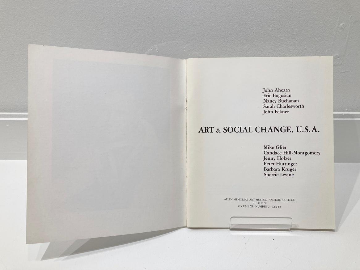Art & Social Change, USA thumbnail 2