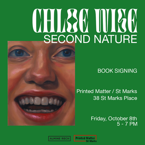 Chloe Wise: Second Nature Book Signing