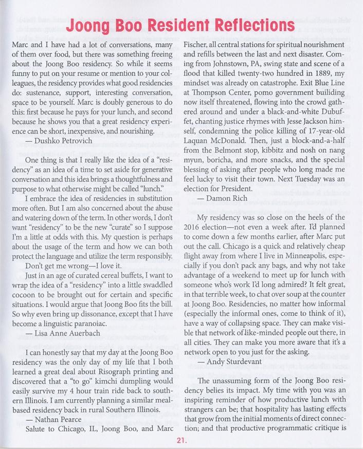 The Meal-Based Artist Residency Program thumbnail 4