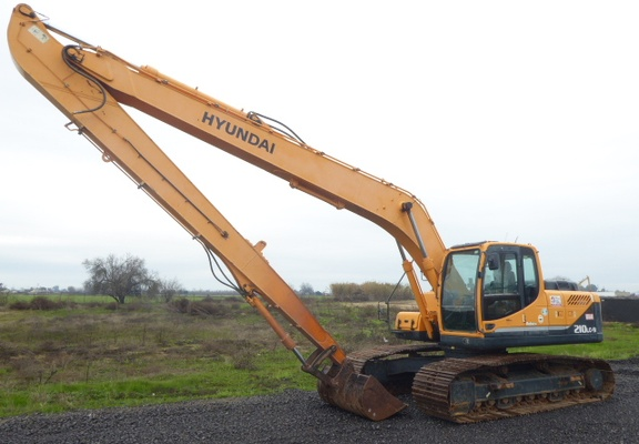 Used 2012 Hyundai ROBEX 210 LC-9 LR For Sale