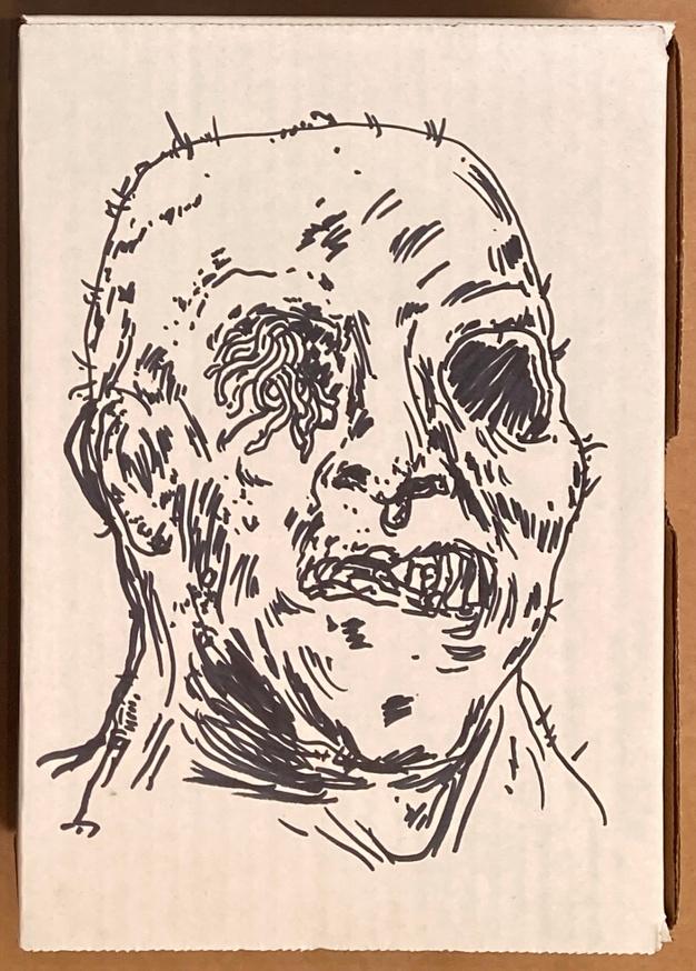 The Basement Tapes Vol. 1 Box Set [Zombie drawing with Size Medium T-Shirt] thumbnail 2