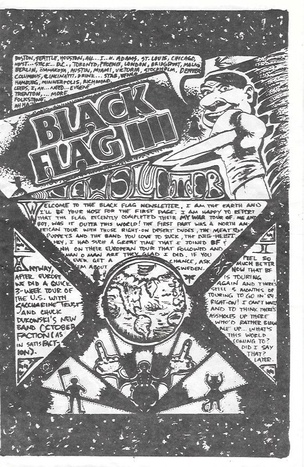 Black Flag Newsletter