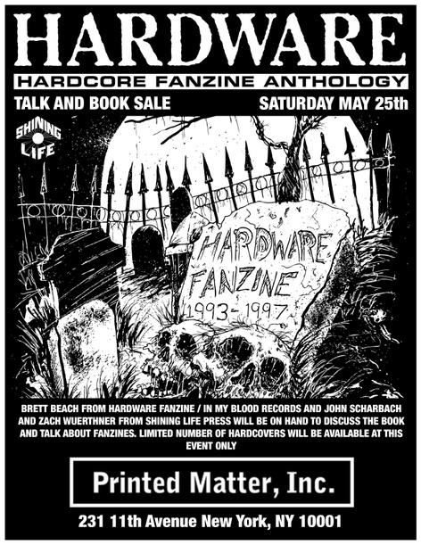 HARDWARE: Hardcore Fanzine Anthology