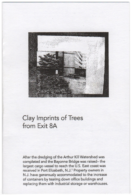 Clay Imprints of Trees from Exit 8A