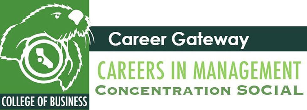 CAREER GATEWAY: Careers in Management Concentration Social