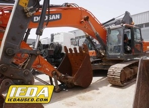 Used 2015 Doosan DX 340 LC-5 For Sale