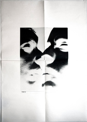 Talk Is Cheap Untitled (Man's Face) Poster