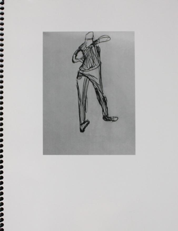 Ian Kinmont Figure Drawings 2016