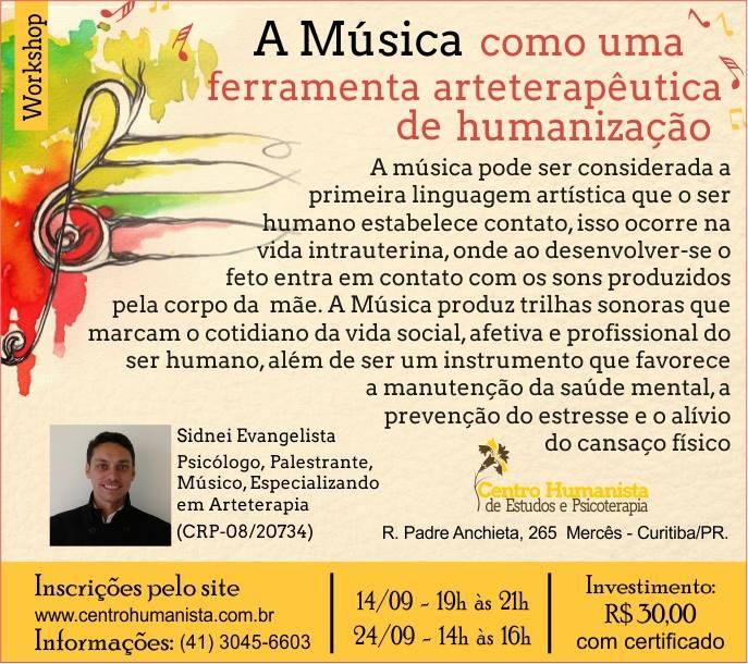 A música como uma ferramenta arteterapêutica de humanização