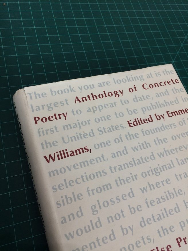 An Anthology of Concrete Poetry [first edition, hardback] thumbnail 3