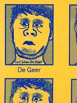 Carl Johan De Geer: De Geer