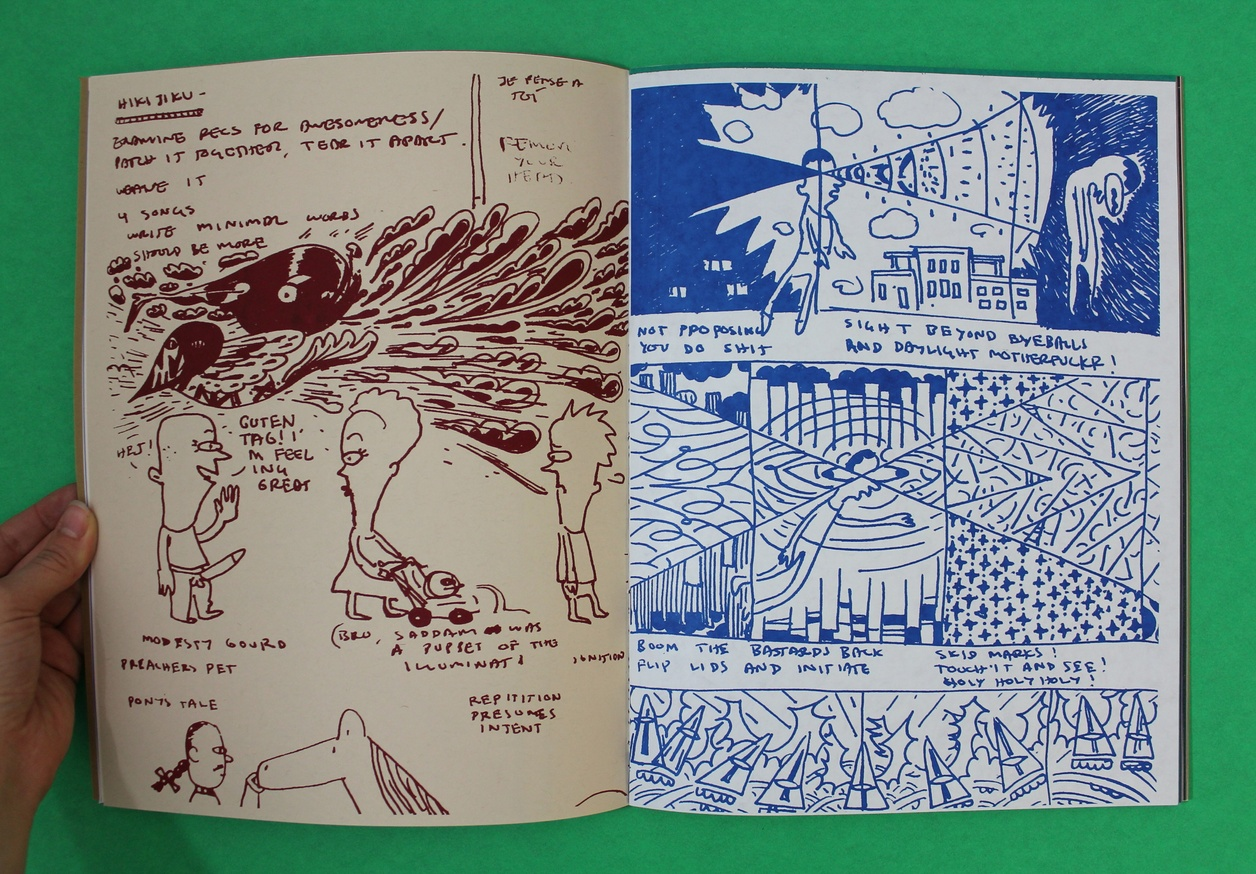 Tunde Adebimpe : Tour Sketch Journos, 2003-2014 thumbnail 2