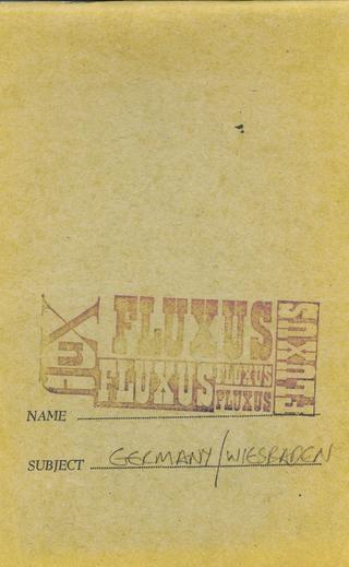Fluxus: Germany/Wiesbaden - Printed Matter