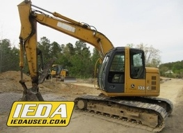 Used 2008 John Deere 135C RTS For Sale