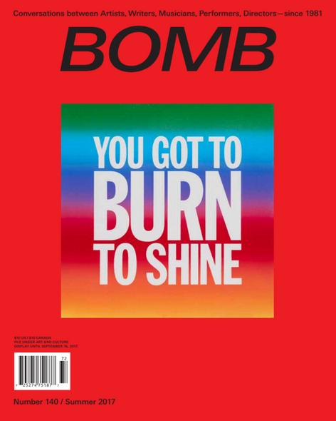 BOMB Magazine - Summer Issue Launch