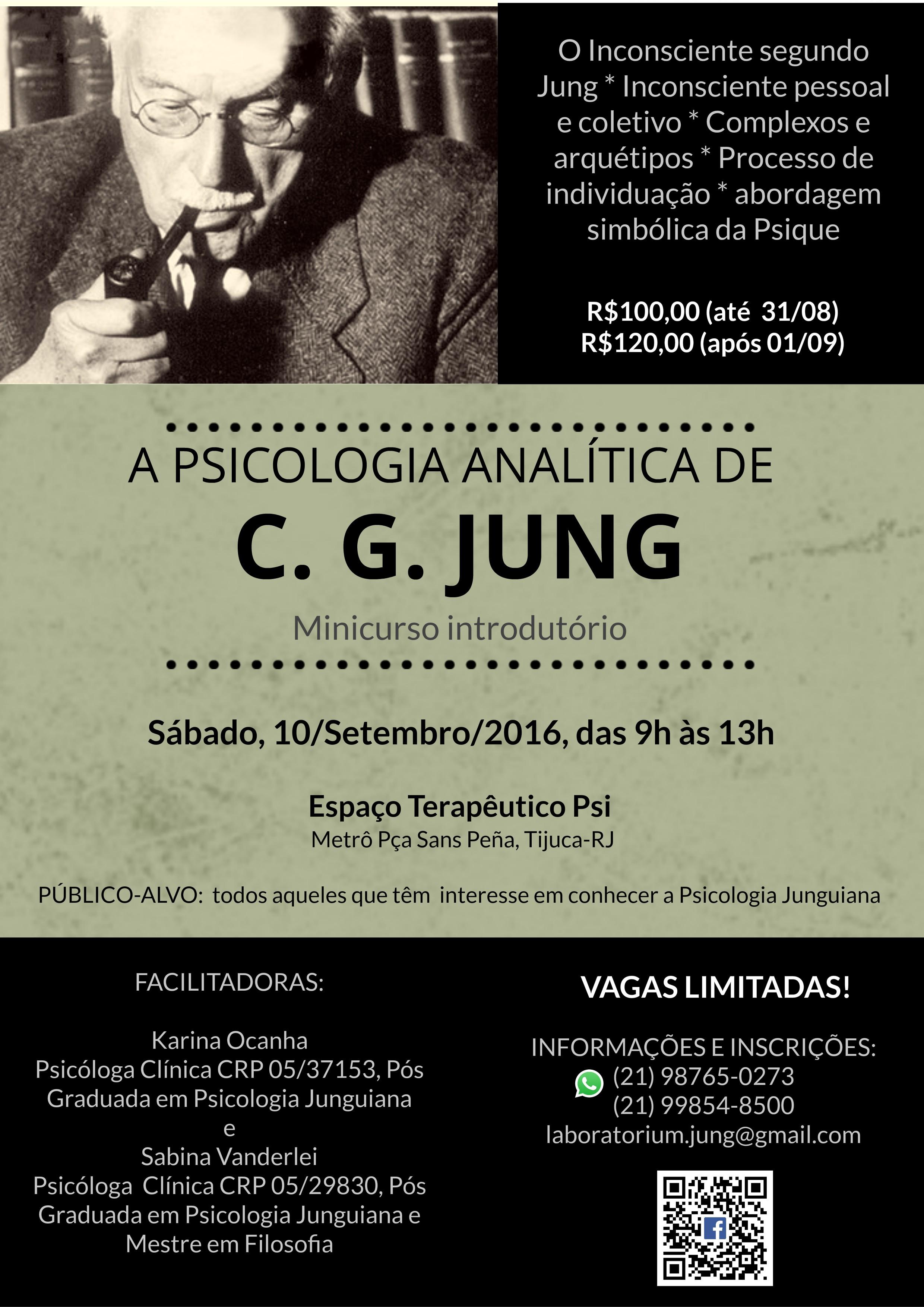 A PSICOLOGIA ANALÍTICA DE C. G. JUNG