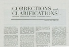 Corrections and Clarifications thumbnail 1