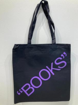 """Books"" Tote - Violet"