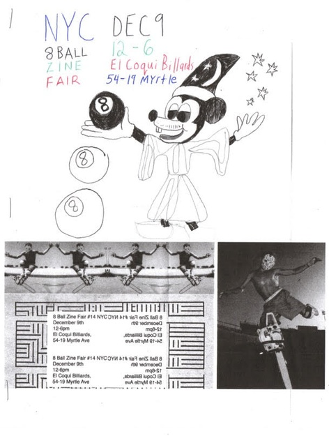 8 Ball Zine Fair N°14