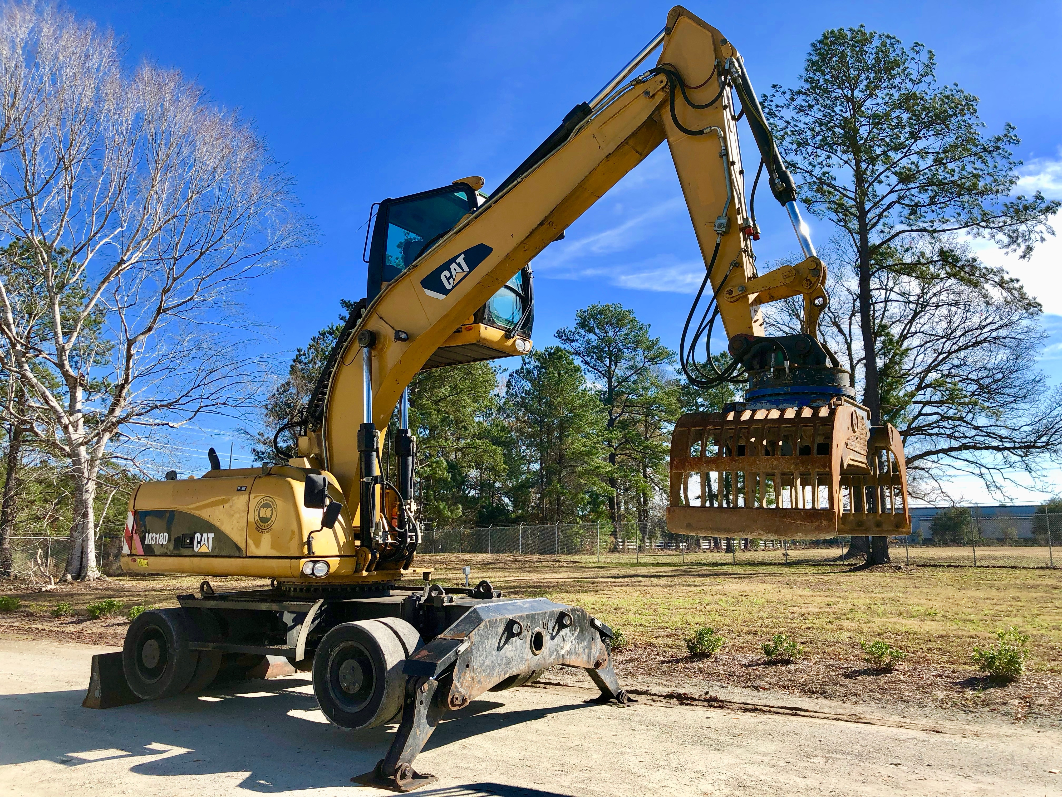 Used 2008 Caterpillar M318D MH For Sale