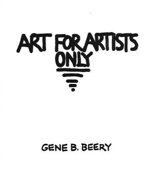 Art for Artists Only: Tales, Reifications and Comments by Imaginary Masters of Art