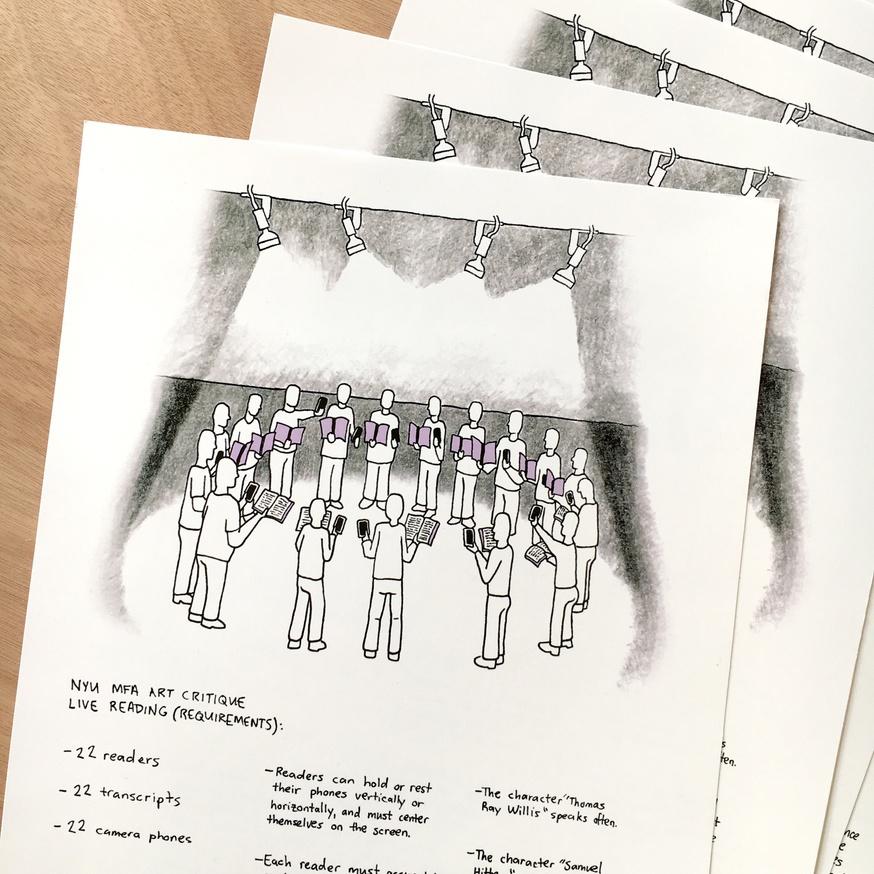 Live Reading: NYU MFA Art Critique (Requirements) thumbnail 2