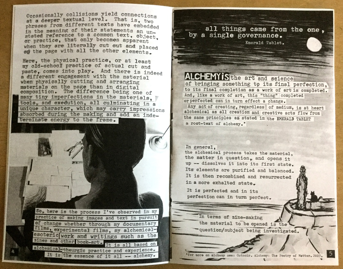 On The Mystic, Magick, Talismanic, Alchemical Practice of Zine Making thumbnail 3