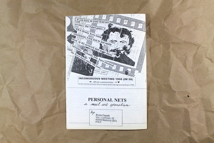 Personal Nets : A Mail Art Operation, Document 1, 10.98 thumbnail 4