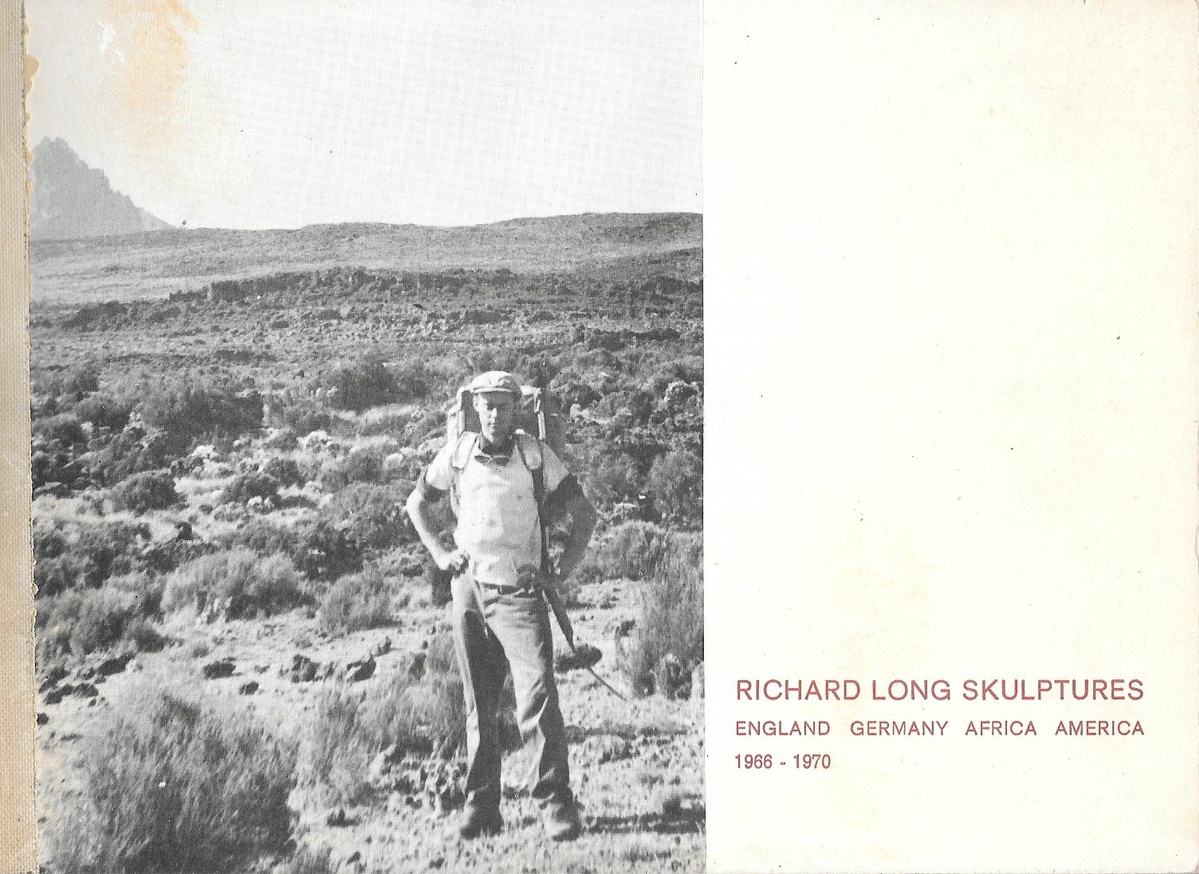 Richard Long Skulptures 1966-1970 [4 Sculptures]