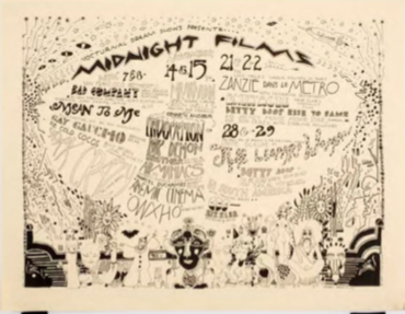 Nocturnal Dreams Shows Present Midnight Films, Palace Theater, San Francisco, November 1969