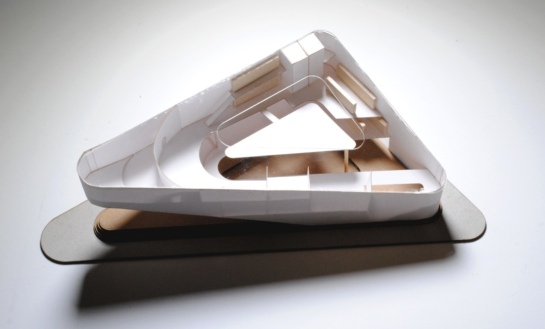 Physical model by Ethan Zisson.