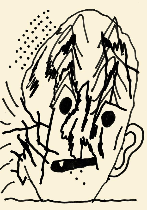 Shoboshobo and Quentin Chambray - Collaborative Drawings - Printed