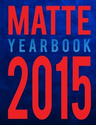 Matte Magazine 2015 Yearbook
