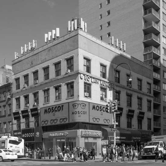 FIG. 12: 69 West 14th Street, home to Alt U and the headquarters of the Gay Liberation Front in 1969–1970 (demolished), 2016. Photograph by Christopher D. Brazee/NYC LGBT Historic Sites Project.