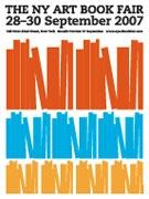2007 NY Art Book Fair [Poster]