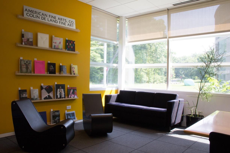 CCS Bard Library reading room