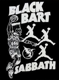 Black Bart Sabbath Sticker