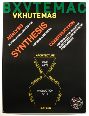 Untited (Analysis, Synthesis, Construction, from the _Meta-Constructivism_ Poster Series), 2016
