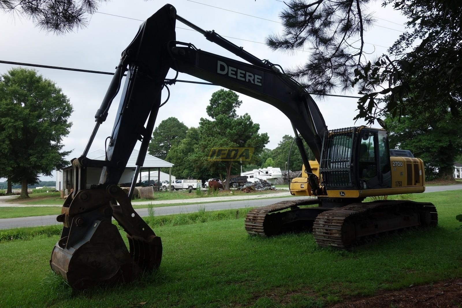 Used 2009 John Deere 270D LC For Sale